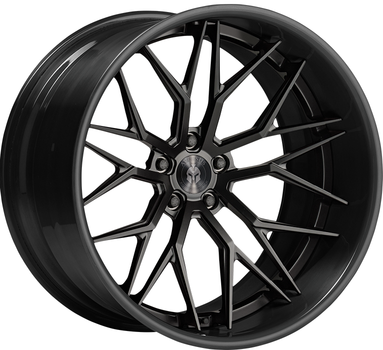 Aversus Forged Black Wheels Felgen A-FB X03